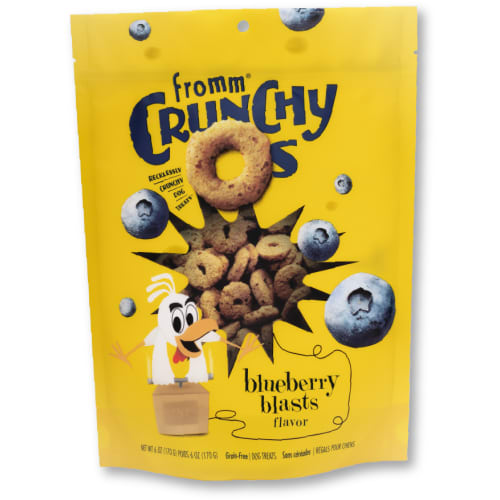 Fromm - Crunchy Os Blueberry Blasts Flavor Dog Treats, 6oz