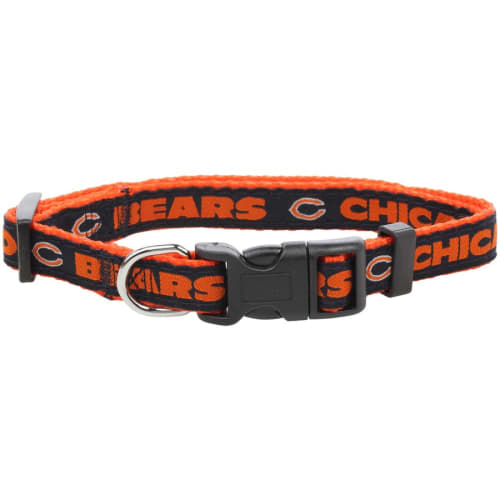 Pets First - Official NFL Chicago Bear's Collar For Dogs, Small