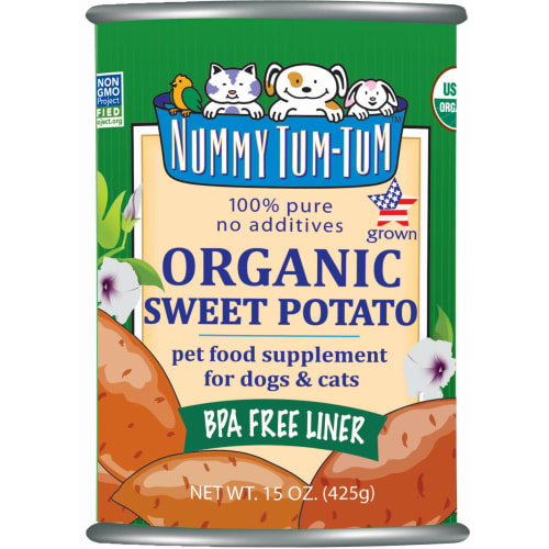Nummy Tum-Tum - Organic Sweet Potato Grain-Free Canned Pet Food Supplement