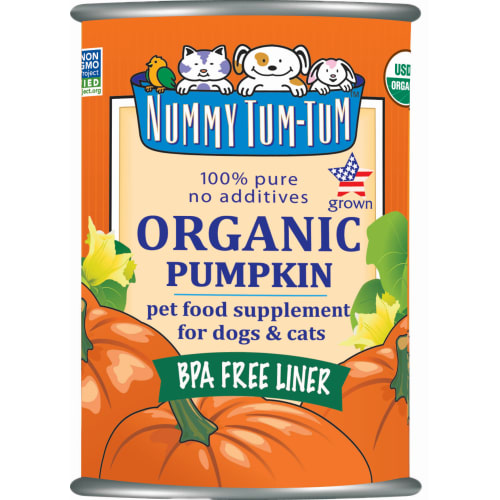 Nummy Tum-Tum - Organic Pumpkin Grain-Free Canned Pet Food Supplement