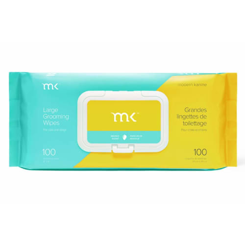 Modern Kanine - Mango Scented Pet Grooming Wipes For Dogs & Cats, 100 Count