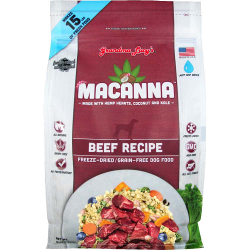 Grandma Lucy's - Macanna Grain Free Beef Freeze-Dried Dog Food