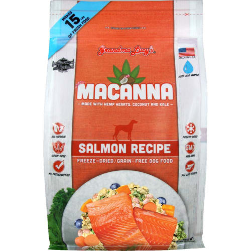Grandma Lucy's - Macanna Grain Free Salmon Freeze-Dried Dog Food