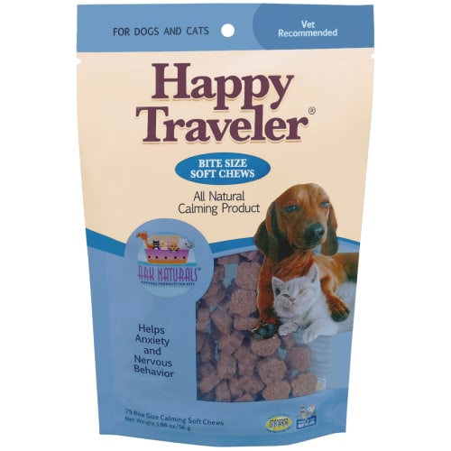Ark Naturals - Happy Traveler Natural Herbal Calming Soft Chews For Pets, 1.98oz