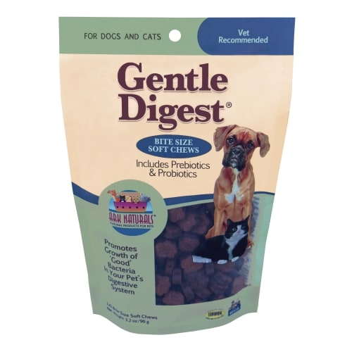 Ark Naturals - Gentle Digest Soft Chews With Prebiotics & Probiotics For Pets, 3.2oz