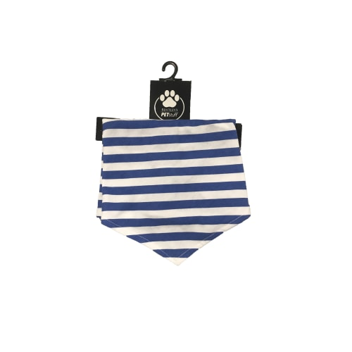 Bentley's Pet Stuff - Royal Blue Stripe Bandana