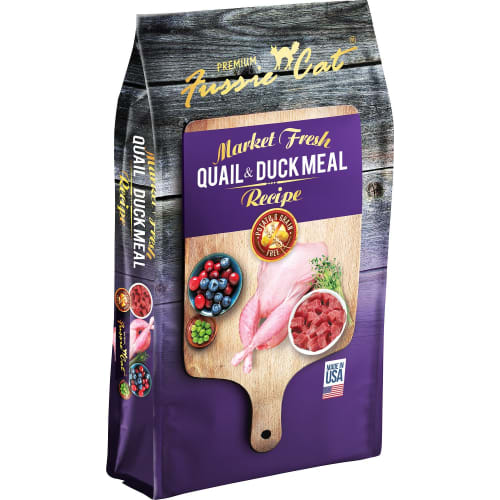 Fussie Cat - Market Fresh Quail & Duck Dry Cat Food