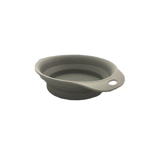 Bentley's Pet Stuff - Grey Collapsible Travel Bowl