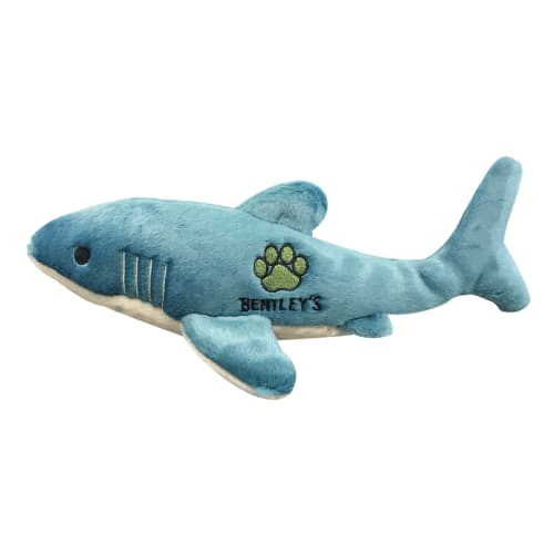 Fluff & Tuff - Bentley's Charity Tank The Shark Plush Dog Toy
