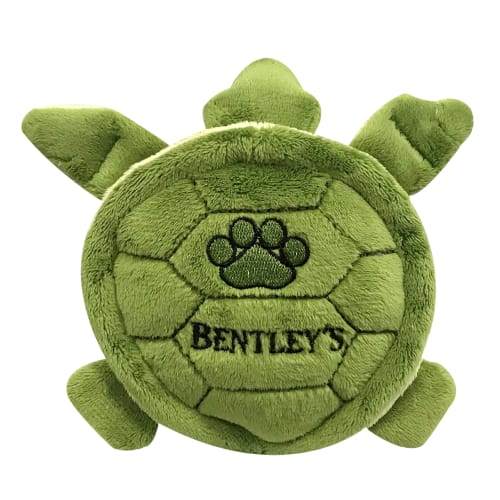 Fluff & Tuff - Bentley's Charity Shelly Turtle Plush Dog Toy