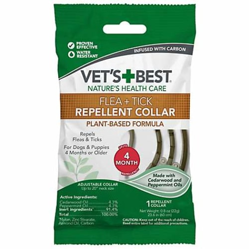 Vet's Best - Natural Flea & Tick Repellant Collar For Dogs