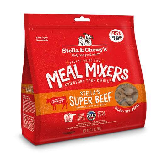 Stella & Chewy's - Stella's Super Beef Meal Mixer Grain-Free Freeze Dried Dog Food