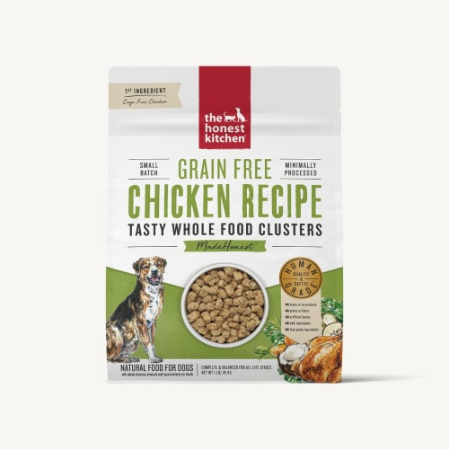 The Honest Kitchen - Whole Food Clusters Chicken Recipe Grain-Free Dry Dog Food