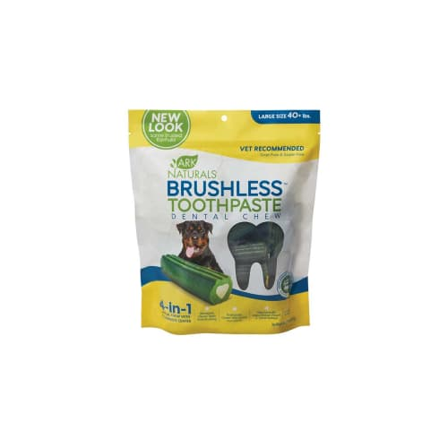 Ark Naturals - Brushless Toothpaste Dental Chews For Large Dogs, 18oz