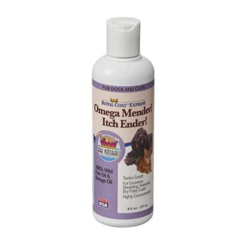 Ark Naturals - Omega Mender! Itch Ender! Skin & Coat Supplement For Pets, 8oz