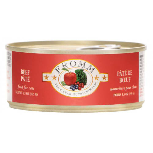 Fromm - Four-Star Beef Pate Canned Cat Food, 5.5oz
