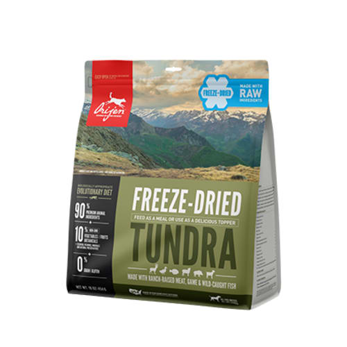 Orijen - Tundra Grain-Free Freeze-Dried Dog Food