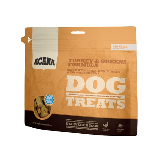 Acana - Turkey & Greens Freeze Dried Dog Treats