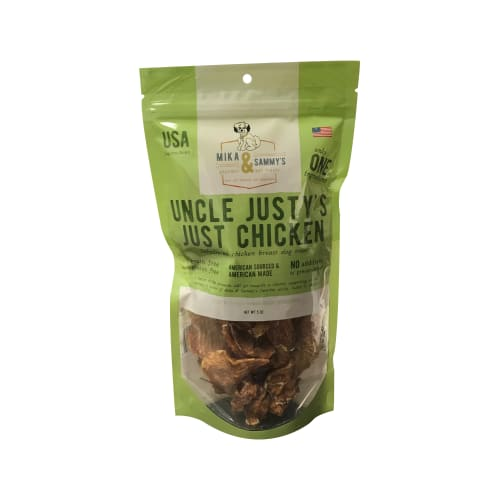 Mika & Sammy's - Uncle Justy's Just Chicken Grain-Free Dog Treats, 5oz