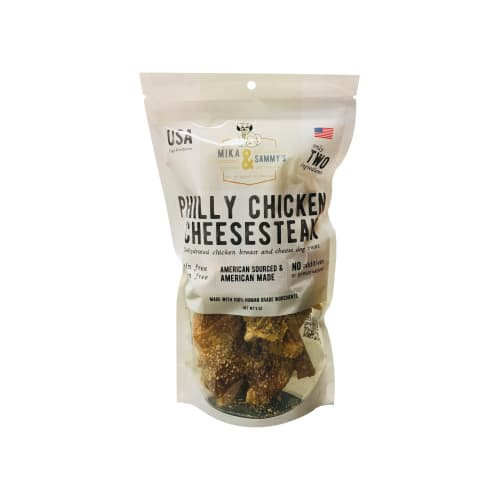Mika & Sammy's - Philly Chicken Cheesesteak Grain-Free Dog Treats, 5oz