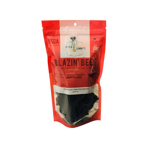 Mika & Sammy's - Blazin' Beef Grain-Free Dog Treats, 5oz