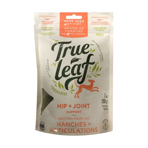 True Leaf - Hip & Joint Support Chews For Dogs, 7oz