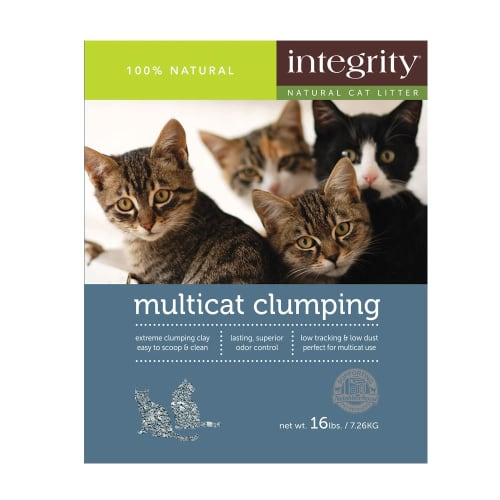Integrity - Multicat Clumping Clay Cat Litter