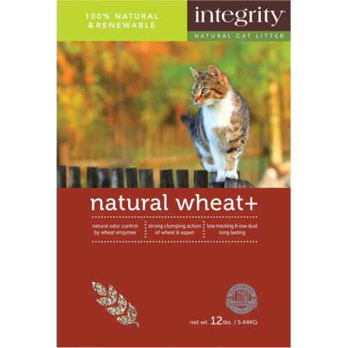 Integrity - Clumping Wheat Litter