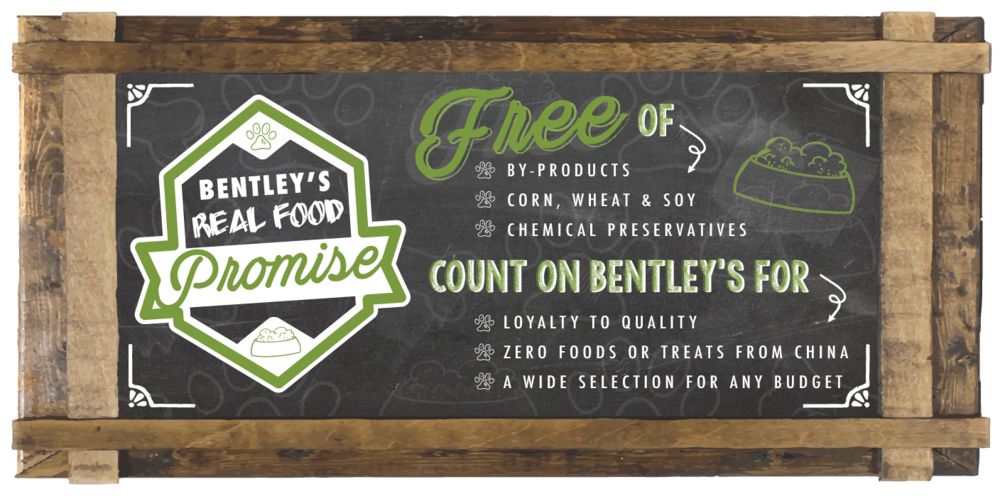 Bentley's Food Promise