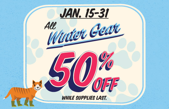 Winter Gear Sale