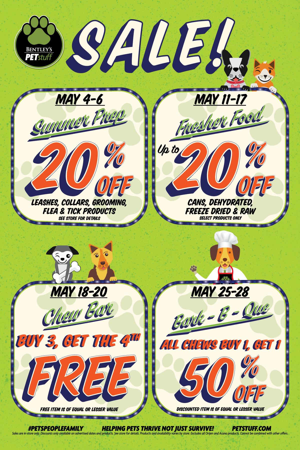May 2018 Deals