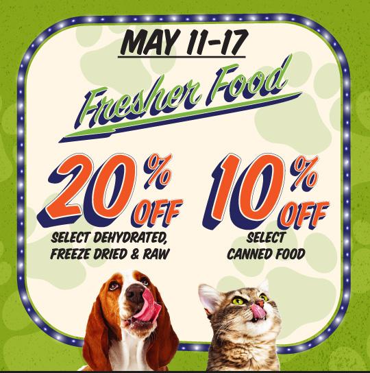 Fresher Food Sale 2018