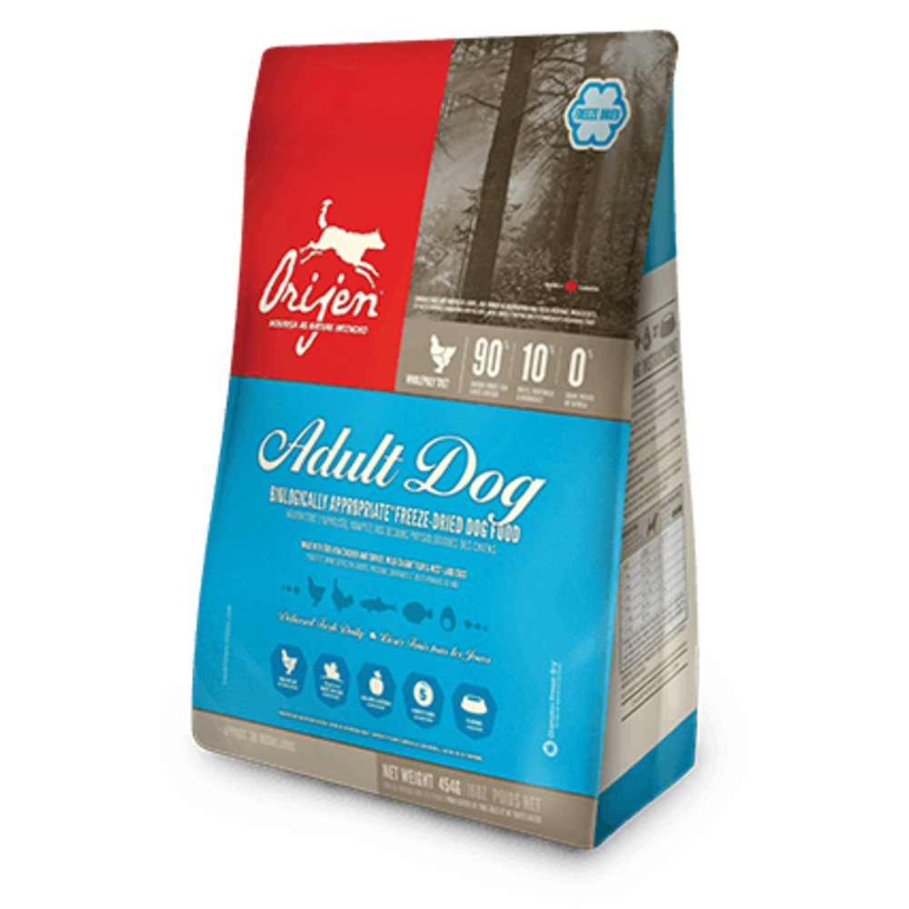 Orijen - Adult Grain-Free Freeze-Dried Dog Food