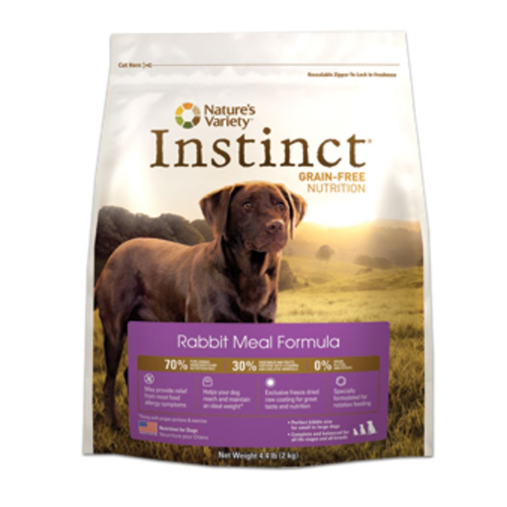 Nature's Variety - Instinct Original Real Rabbit Formula Grain-Free Dry Dog Food, 20lb