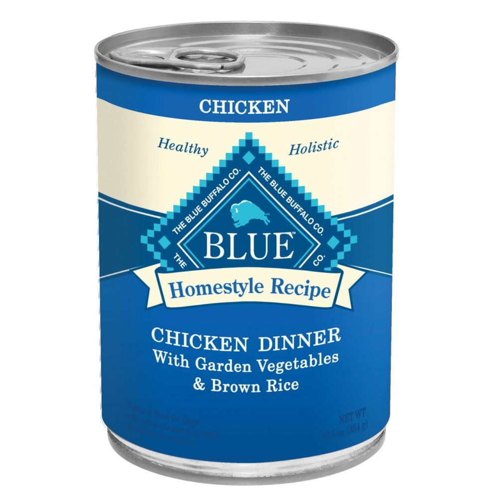 Blue Buffalo - Homestyle Recipe Chicken Dinner Canned Dog Food