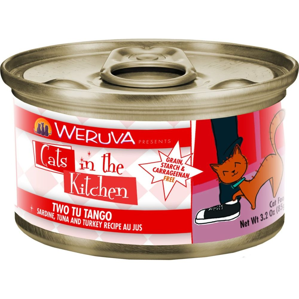 Weruva - Cats In The Kitchen Two Tu Tango Grain-Free Canned Cat Food