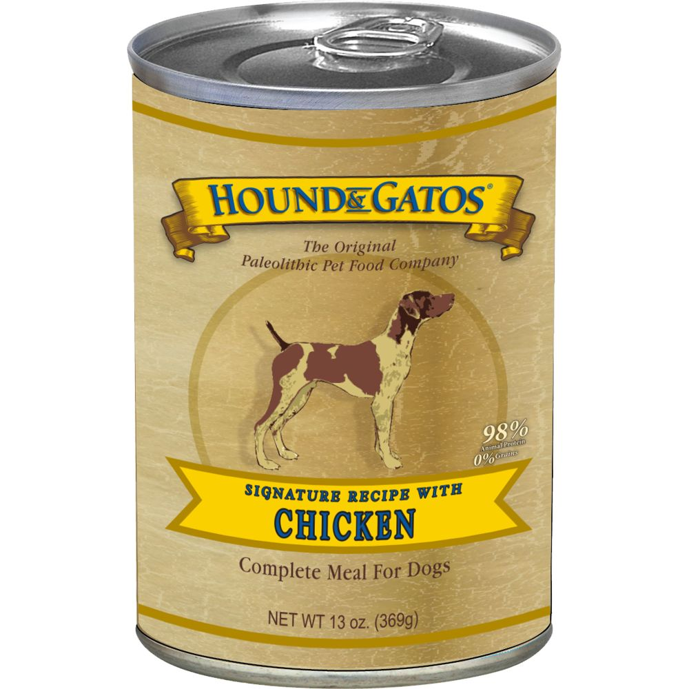 Hound And Gatos - Chicken Grain-Free Canned Dog Food