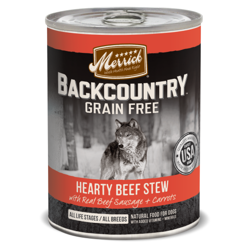 Merrick - Backcountry Hearty Beef Stew Grain-Free Canned Dog Food