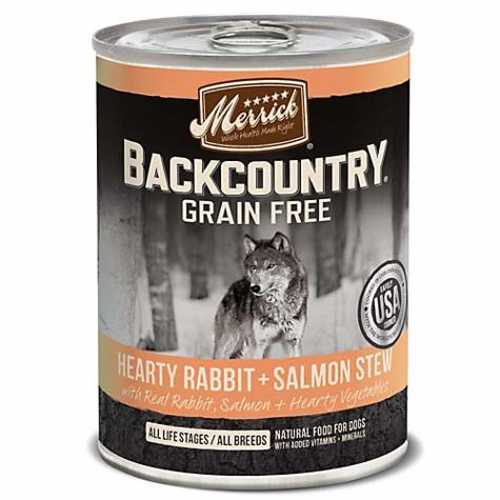 Merrick - Backcountry Hearty Salmon Stew Grain-Free Canned Dog Food
