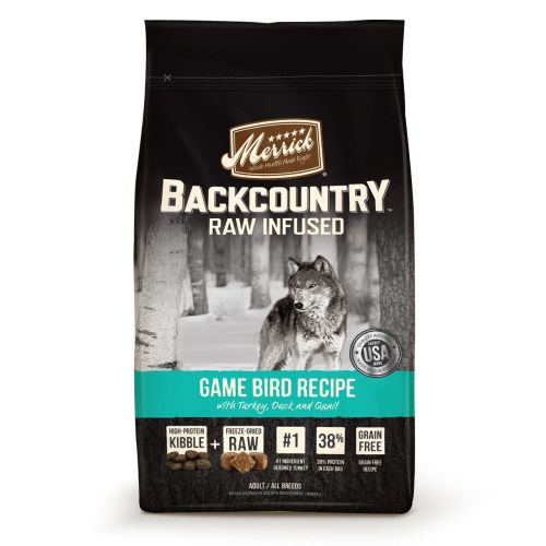 Merrick - Backcountry Raw Infused Game Bird Recipe Grain-Free Dry Dog Food