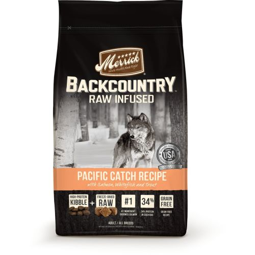 Merrick - Backcountry Raw Infused Pacific Catch Recipe Grain-Free Dry Dog Food
