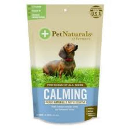 Pet Naturals - Calming Chews 30 Count For All Dog Sizes Pet Supplement, 1.59oz
