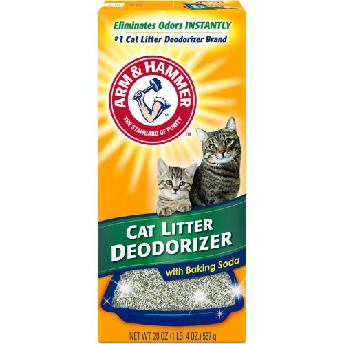 Arm & Hammer - Cat Litter Deodorizer With Baking Soda, 20oz
