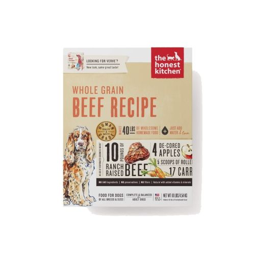 Honest Kitchen - Verve Beef Recipe Dehydrated Dog Food