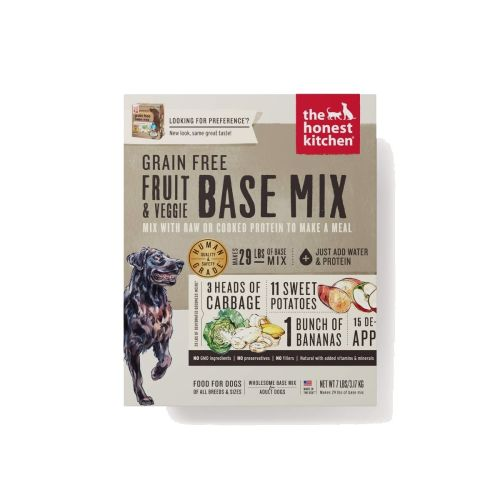 Honest Kitchen - Preference Base Mix Grain-Free Dehydrated Dog Food, 3lb
