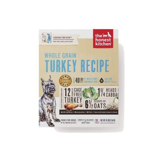 The Honest Kitchen Keen Turkey Recipe Dehydrated Dog Food