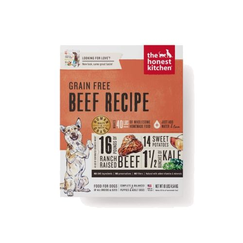 Honest Kitchen - Love Beef Recipe Grain-Free Dehydrated Dog Food