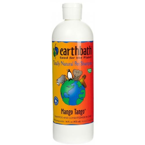 Earthbath - 100% Biodegradable Mango Tango 2-in-1 Conditioning Pet Shampoo, 16oz