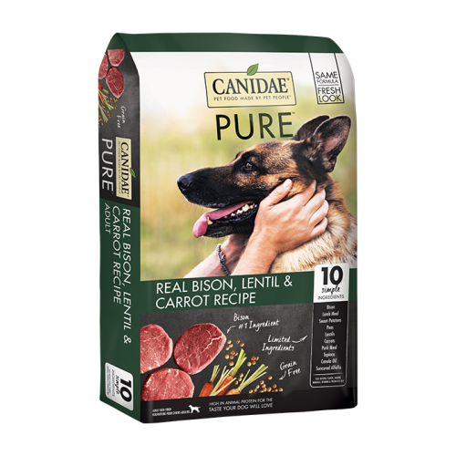 Canidae - PURE Land Limited Ingredient Bison Formula Grain-Free Dry Dog Food