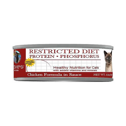 Dave's Pet Food - Restricted Diet (Protein & Phosphorus) Chicken Licken' Good Grain-Free Canned Cat Food